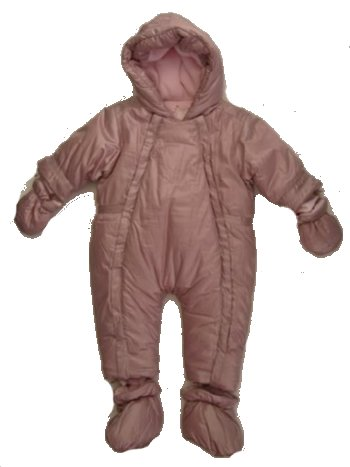 La Petite Ourse girls snowsuit
