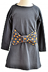 Whitlow & Hawkins dress with polka dot bow